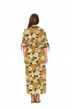 Gypsy Maxi Dress - Klimt Print