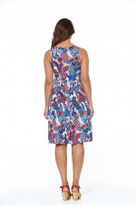 Jude Cotton 50's  A Line Dress - Kyoto Print