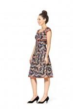 Sophie Dress- Fuji Print