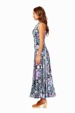 Nina Dress - Quant Print