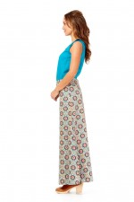 Sasha Maxi Skirt - Morocco Print