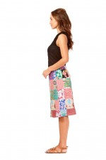 Patch Cotton skirt