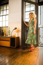 Polly Dress - Brighton Print
