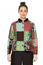 Terri Patch Cotton Jacket