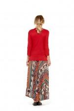 Gigi Frill Skirt - Fresco Print