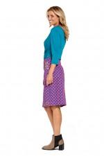Electra Cotton Pocket Skirt - Maya Print