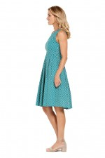 Jude Cotton 50's  A Line Dress -  Rio Print