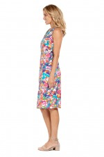 Betty Dress with pockets - Sendai Print