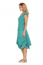 Renata Cotton Dress Creation Print