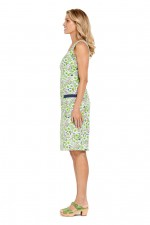 Rosie Cotton  Dress -Meadow Print