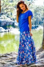 Gigi Frill Skirt - Amalfi  Print