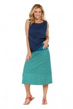 New Dita Cotton Reversible  Skirt – Rio & Creation Prints