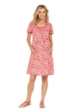 Eloisa Cotton Pocket Dress - Bloom Print