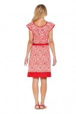 Piper Cotton Tunic Dress - Bloom  & Spot Prints