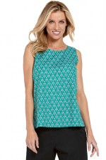 Maisy Cotton Top - Creation Print