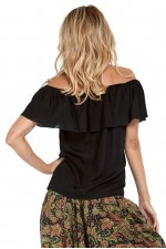 Primo Rayon Top - Black