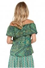 Primo Top - Jewel Print (Silk/Polyester)