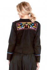Sol Embroidered Cotton jacket