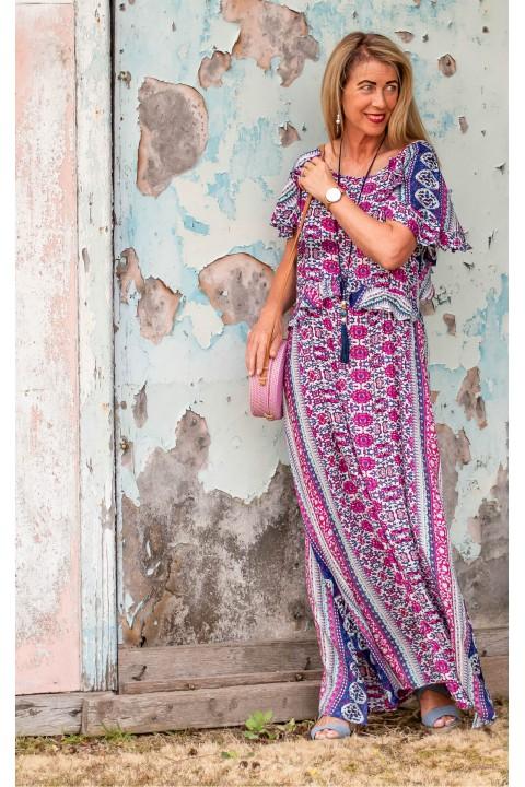 Alexis Dress - Meena Print