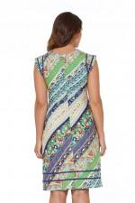 Cassy Cotton Braid Dress - Palais Print