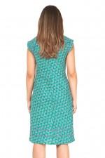 Cassy Cotton Braid Dress - Creation Print