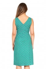 Betty Dress with pockets - Creation Print