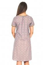 Eloisa Cotton Pocket Dress - Blush Print