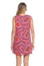 Ellen Tunic Dress - Louvre Print mix