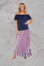 Gigi Frill Skirt - Meena Print
