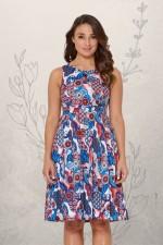 Jude Cotton 50's  A Line Dress - Kyoto Print