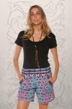 Pippa Shorts -Sol Blue Print