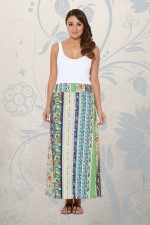 Sasha Maxi Skirt - Palais Print