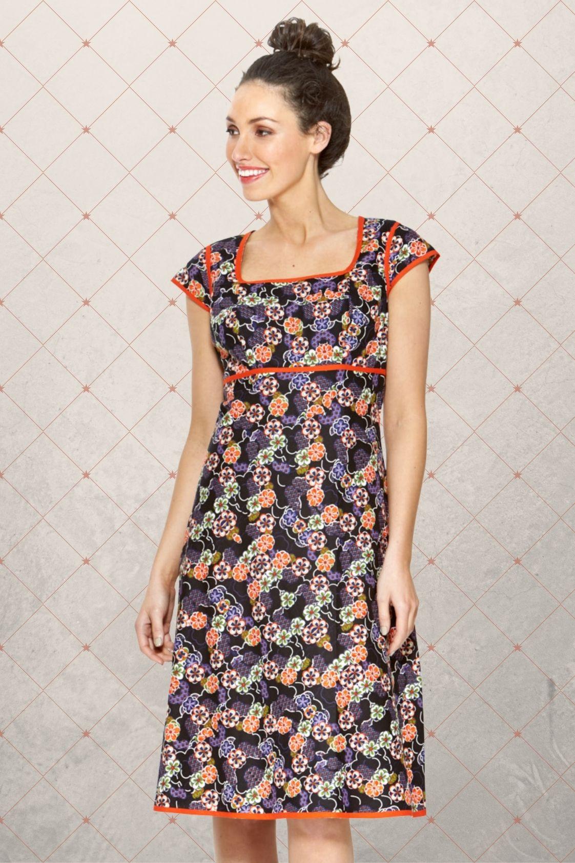 Sophie Dress - Fuji Print