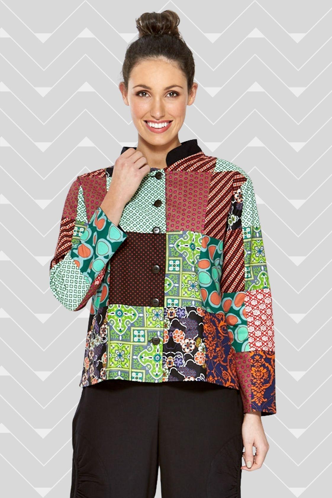 Terri Patch Cotton Jacket