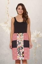 Trish A line Cotton Skirt - Surya and Tokyo  Prints