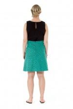 Melissa A-Line Cotton Skirt - Laxmi Print
