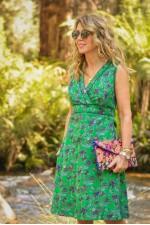 New Jaya Cotton Dress - Jardin Print