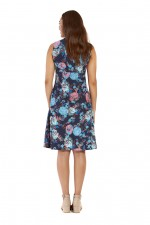 New Jaya Cotton Dress - Flores Print
