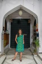 Indira2Print Tunic-Jardin & Laxmi Prints