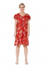 Delores Dress - Lorne Print