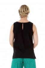 Marti Cotton Top - Black