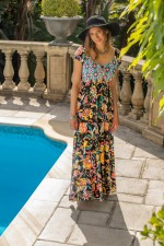Eleanor Dress – Castro Print