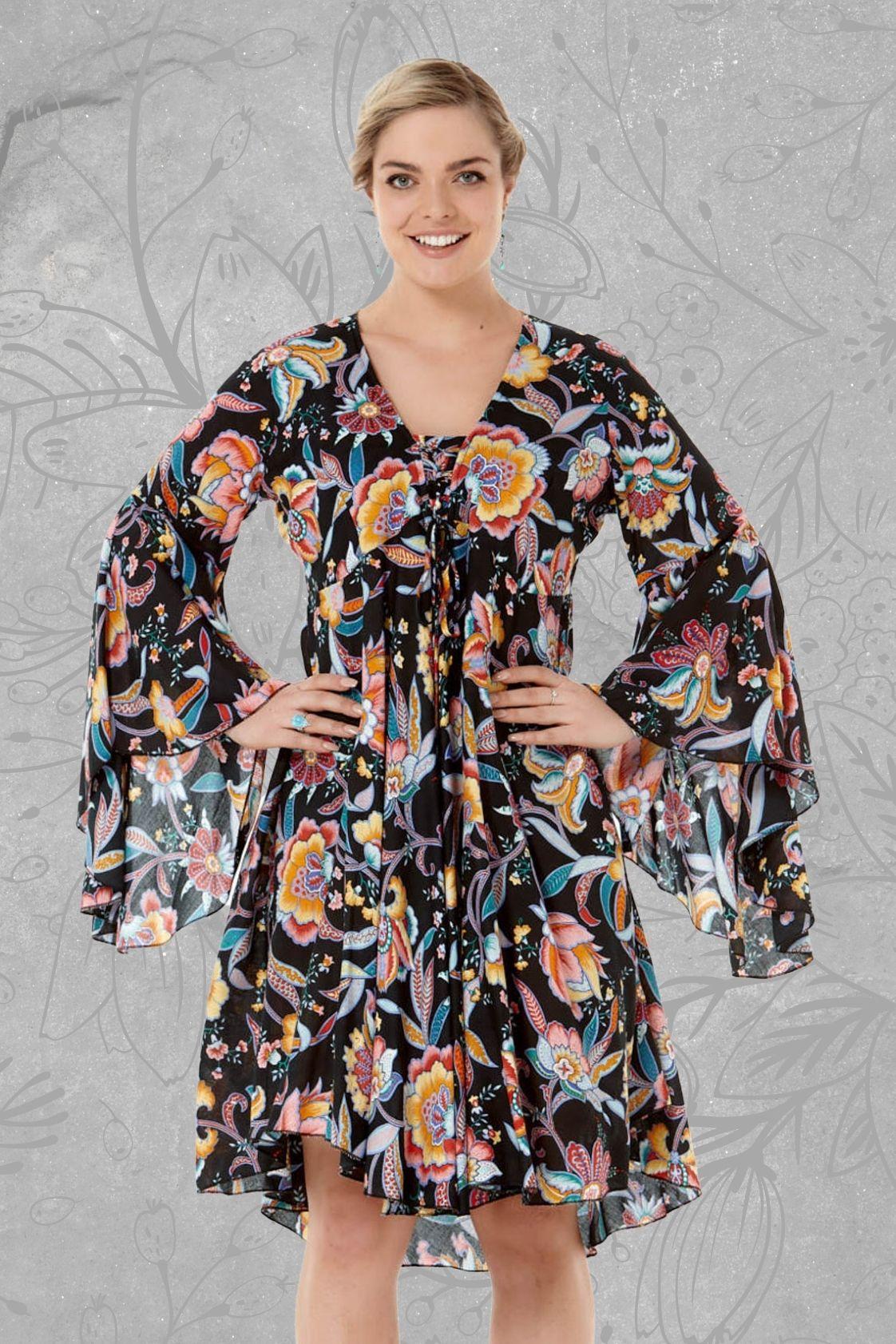 Carma Dress - Castro Print
