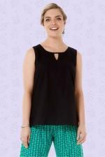 Marti Cotton Top - Black
