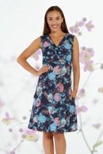 New Jaya Cotton Dress - Flores Print