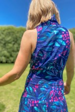 Polly Dress - Berry Print