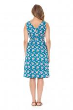 Betty Dress with pockets - Yoko Print