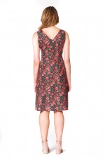 Betty Dress with pockets - Naples Print