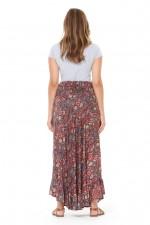 Gigi Frill Skirt - Venice Print