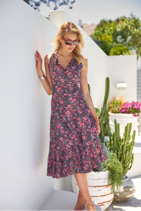 Polly Dress - Naples Print
